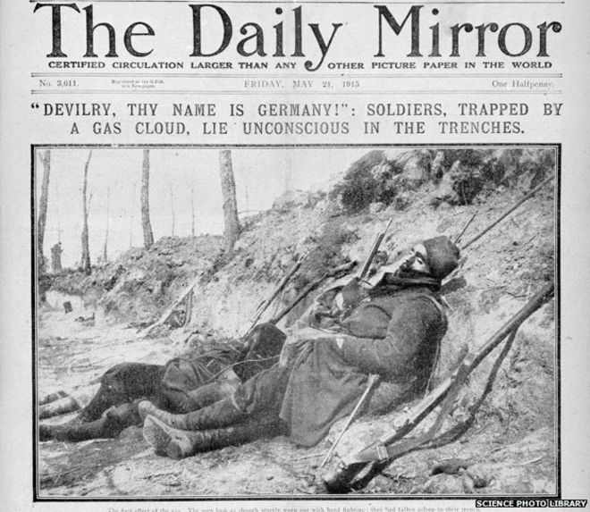 How deadly was the poison gas of WW1? - BBC News