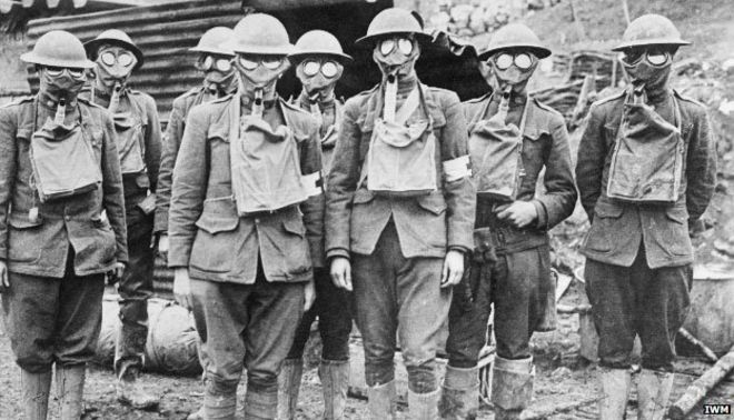 Image result for ww1  gas mask