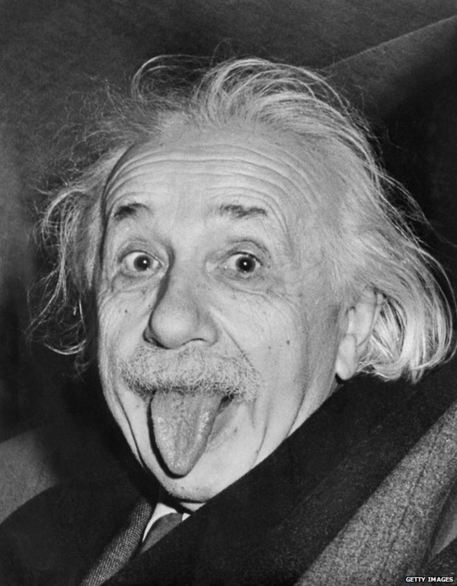 albert einstein the man who predicted gravitational waves news a famous photograph of einstein sticking his tongue out