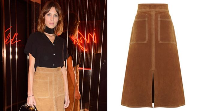 What's the fuss about this M&S suede skirt? - BBC News