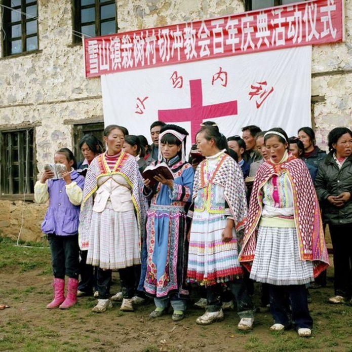 Người Hmong ở Trung Quốc theo Thiên Chúa giáo hát Thánh Ca