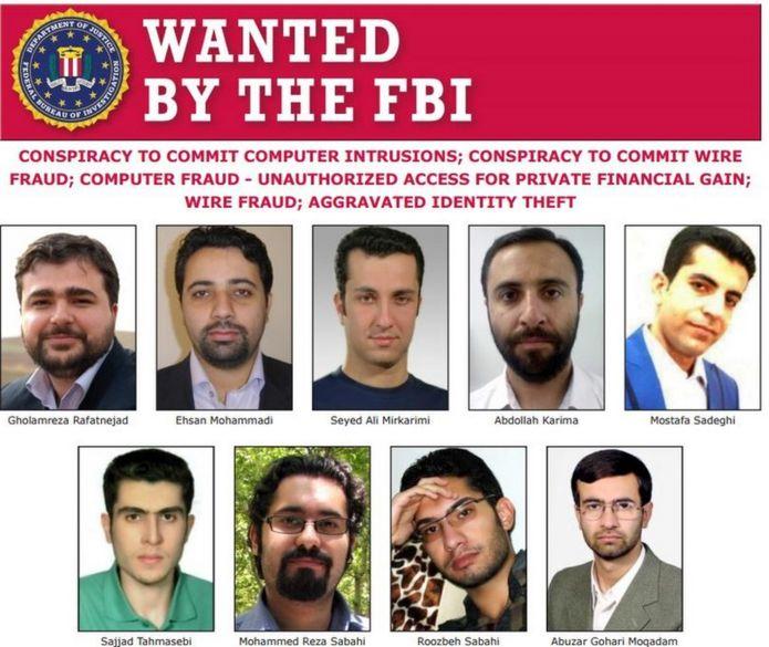 عکسهایی که پلیس فدرال آمریکا در وبسایت خود منتشر کرده است