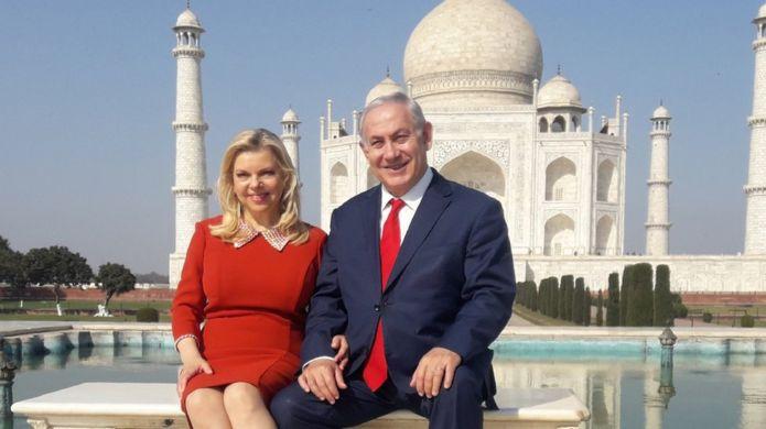 بنیامین و سارا نتانیاهو