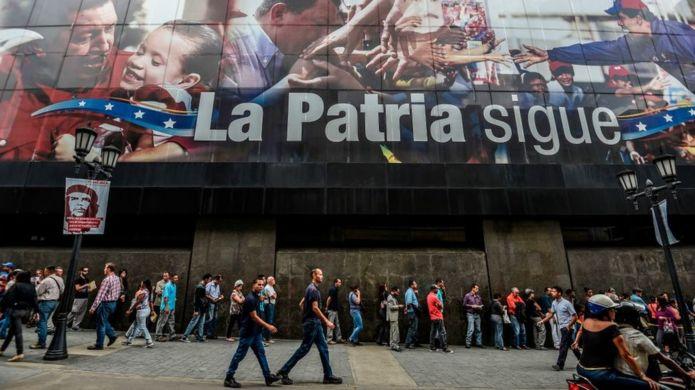 La crisis socioeconómica ha llevado a cientos de miles de venezolanos a migrar