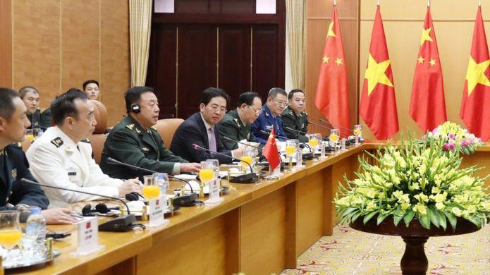 Phái đoàn Trung Quốc