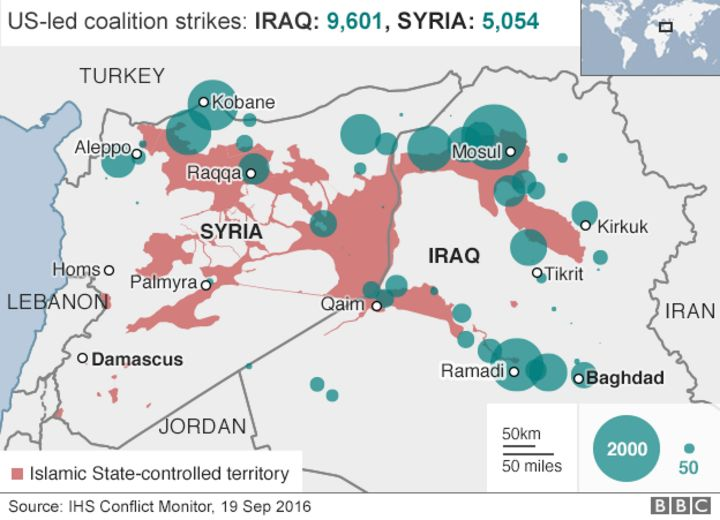 Islamic State and the crisis in Iraq and Syria in maps BBC News – Map If Iraq
