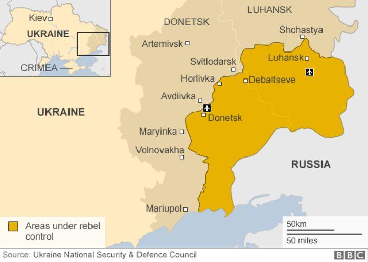 Ukraine conflict Evacuation planned in frontline town of Avdiivka – Map Ukraine Fighting