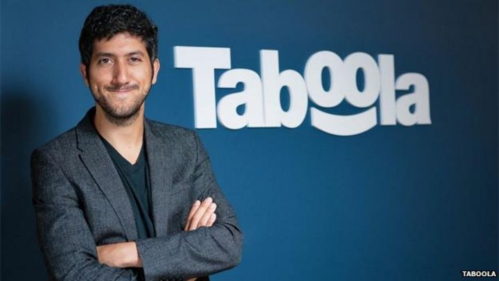 Taboola: The internet firm at the forefront of 'click-bait' - BBC News