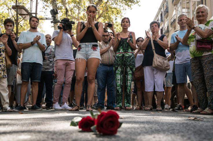 گردهمآیی در بارسلون به یاد کشته شدگان