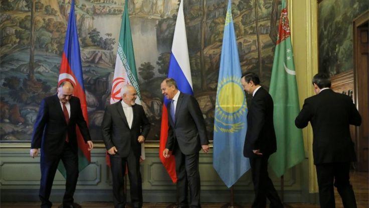 وزرای خارجه کشورهای ساحلی دریای خزر اواخر پاییز امسال در مسکو جلسهای برگزار کردند