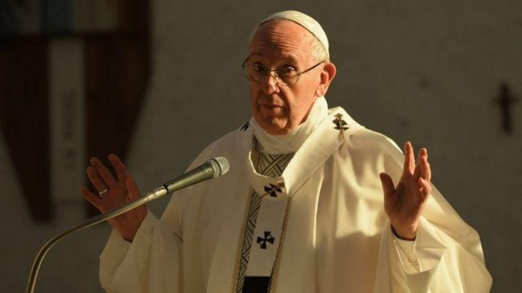 Pope Francis. Photo: 21 May 2017