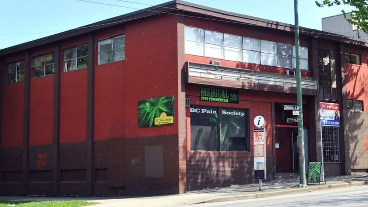 A medical cannabis shop in Canada