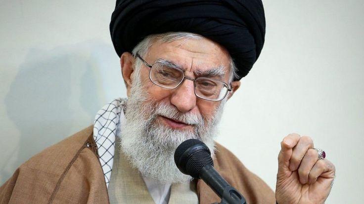 رهبر ایران بعد از چند روز سکوت، انگشت اتهام را به طرف «دشمنان ایران» گرفته است