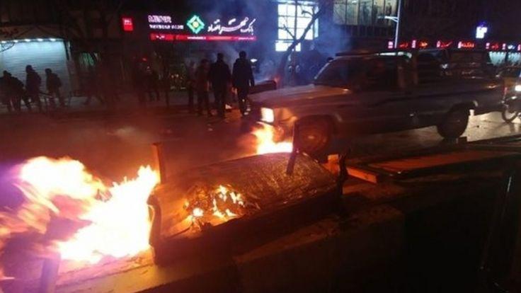 اعترضات در پایتخت - خیابان انقلاب