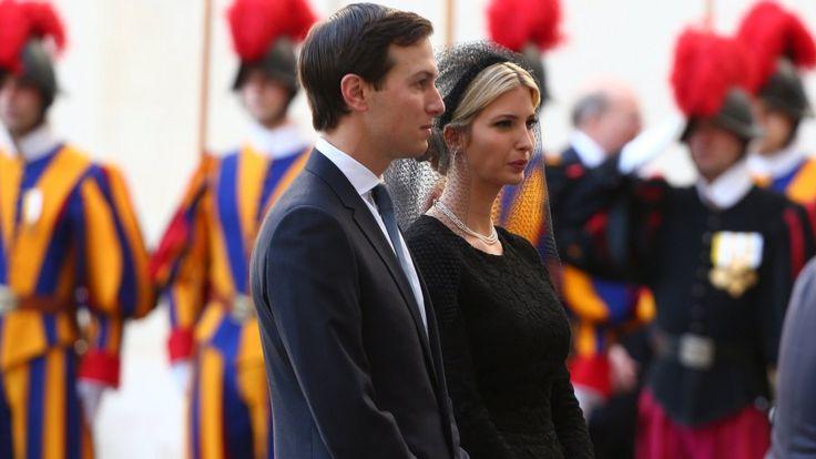 Ivanka Trump and Jared Kushner at the Vatican