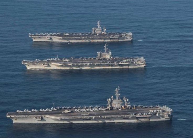 ناوگان دریایی آمریکا یکی از اصلیترین اهرمهای سیاست دفاعی این کشور در احاطه نظامی بر جهان است