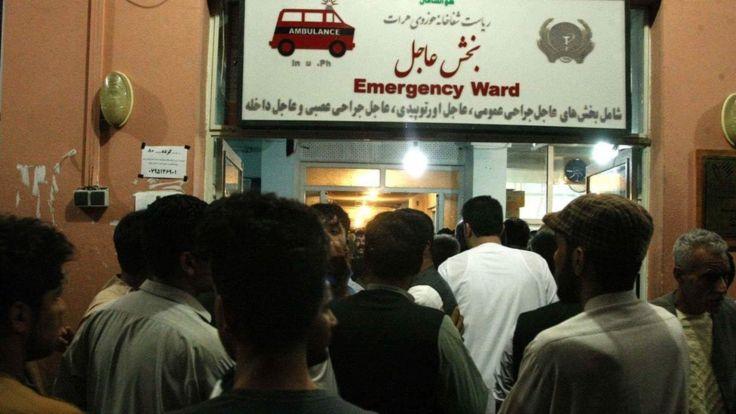 انفجار در هرات