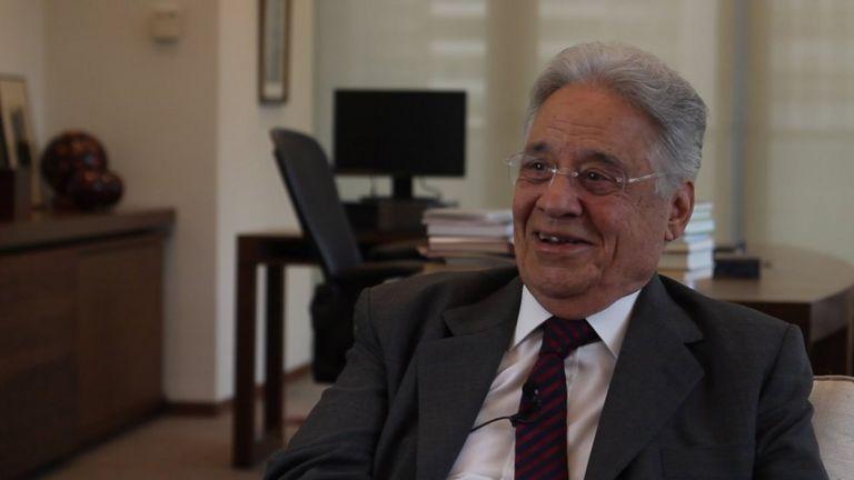 O ex-presidente Fernando Henrique Cardoso, em entrevistsa à BBC Brasil