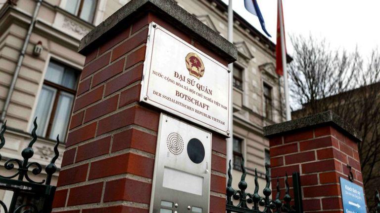 Tòa đại sứ của Việt Nam tại Đức