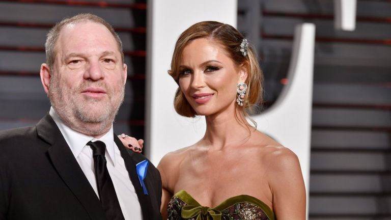 Harvey Weinstein ve eşi Georgina Chapman