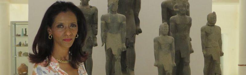 Zeinab Badawi bir müzede