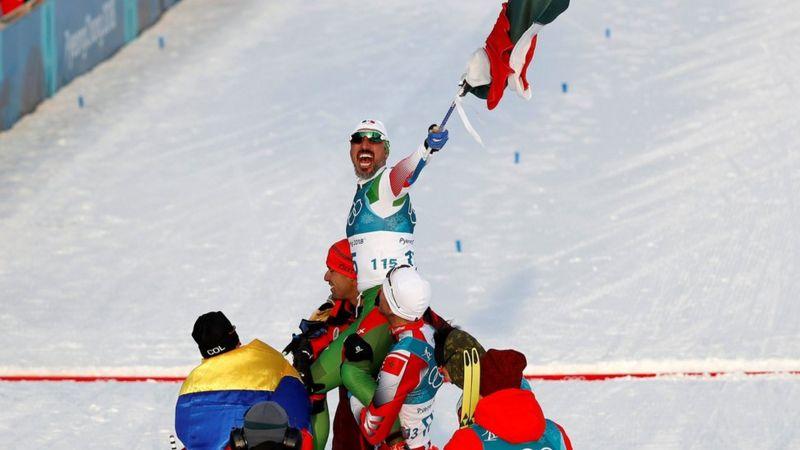 Germán Madrazo, el último lugar en los JJOO de PyeongChang, más feliz del planeta
