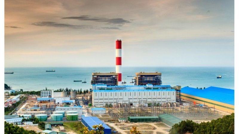 Việt Nam sẽ cho một nhà máy nhiệt điện trị giá 2,2 tỉ USD tại Vũng Áng