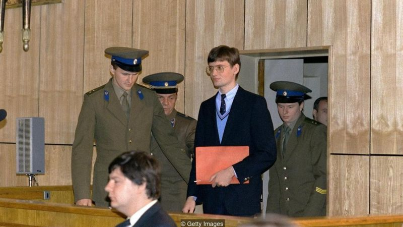 Rust was put on trial by the Soviets, and spent nearly a year in detention