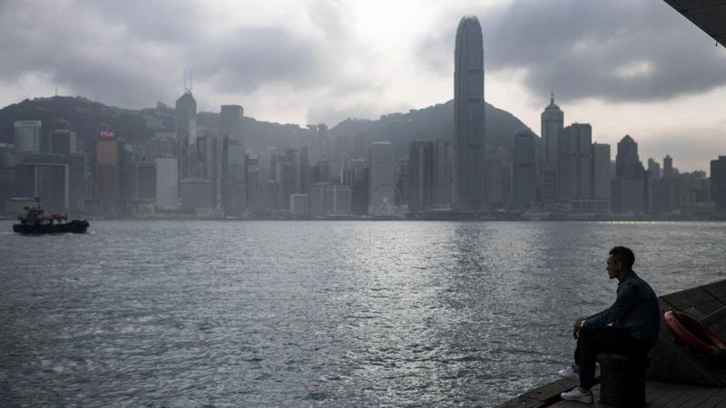Hong Kong şehri silüeti