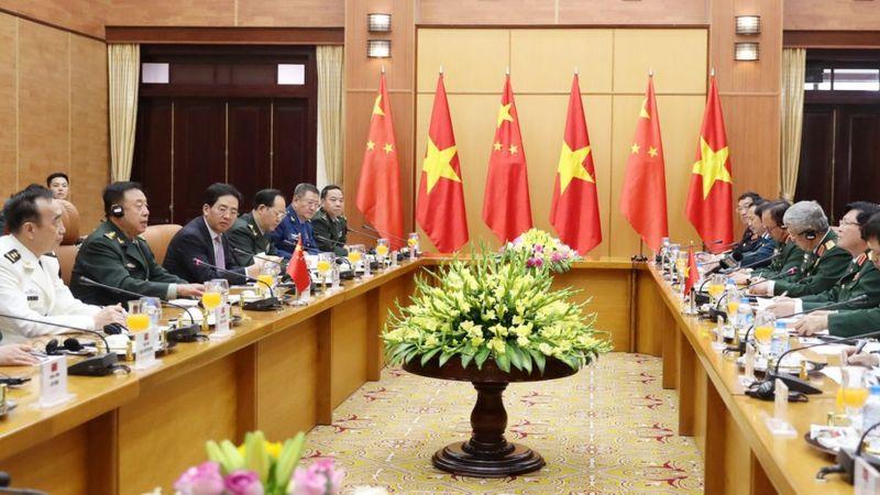 Việt Nam và Trung Quốc thường có các cuộc trao đổi quốc phòng cấp cao.