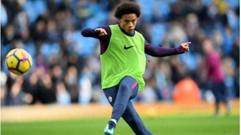 Winga wa Manchester City Leroy Sane