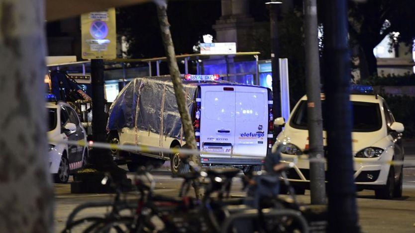 خودروی ون استفاده شده در حمله