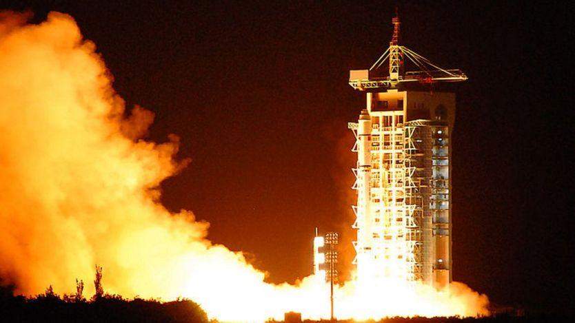 Lançamento de um satélite chinês