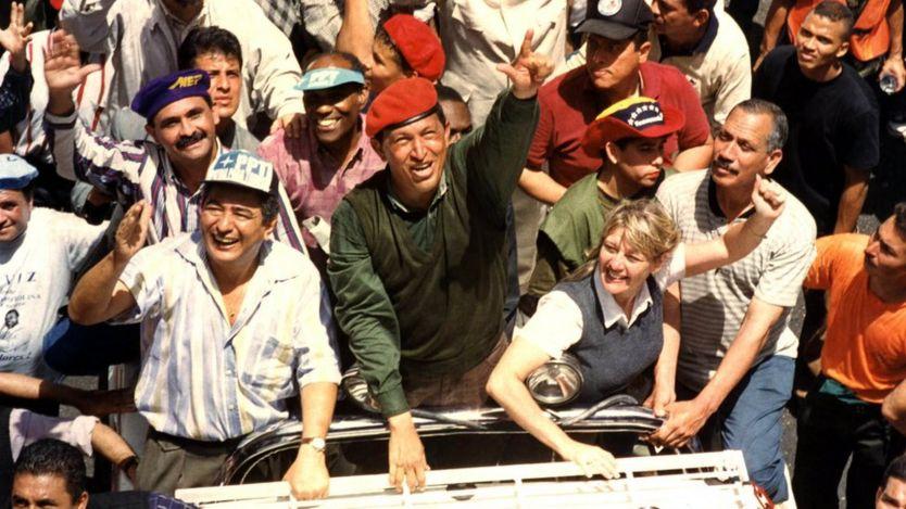 Hugo Chavez 2002'de iktidara geldi.