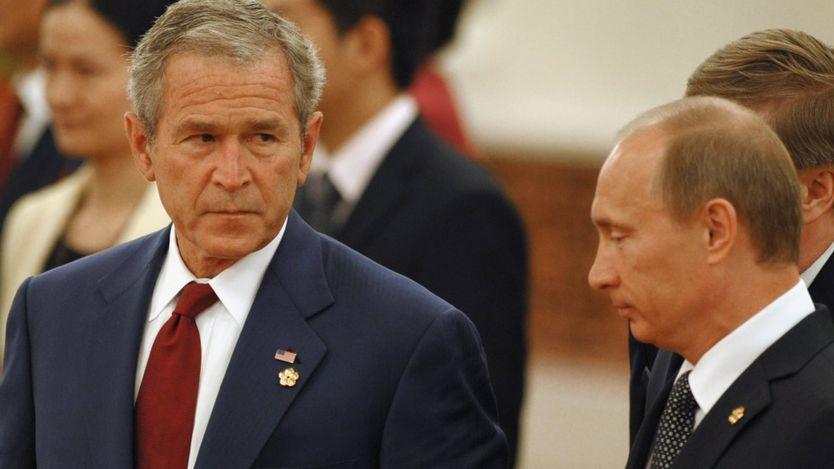 پوتین و بوش