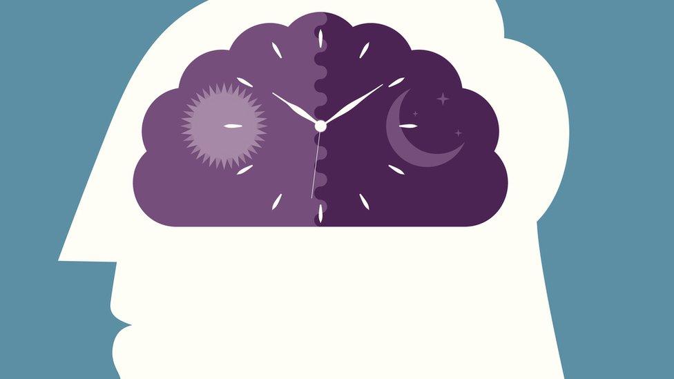body clock cartoon image