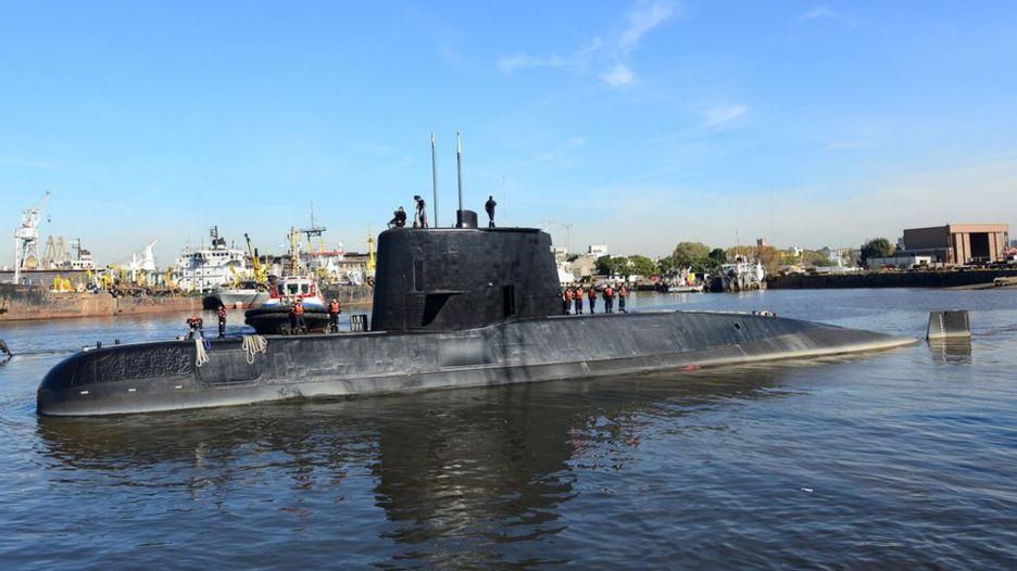 The Argentine military submarine ARA San Juan