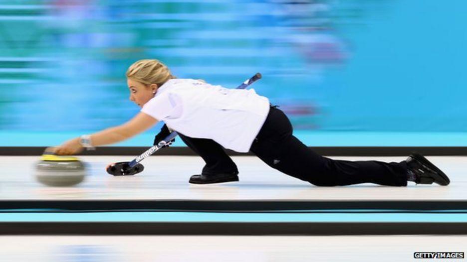 Anna Sloan, GB curler