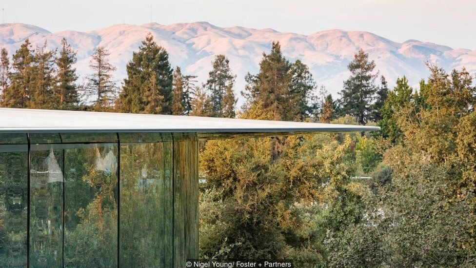 El teatro Steve Jobs en el Apple Park Foto: Nigel Young/ Foster+Partners