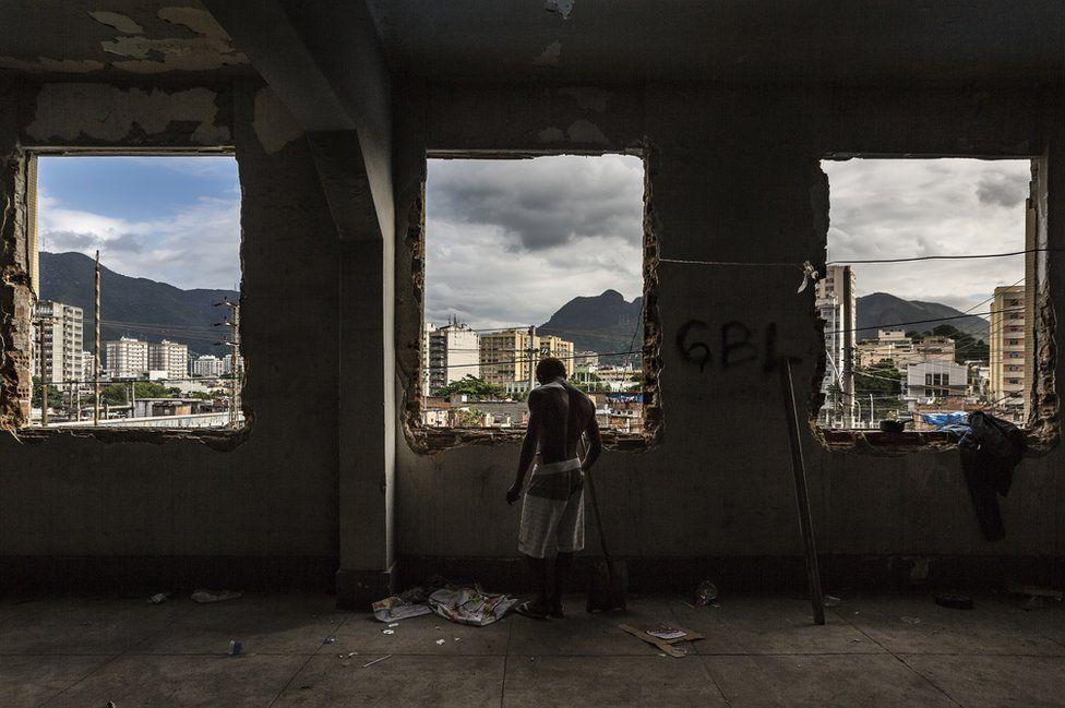 Заброшенное здание министерства финансов
