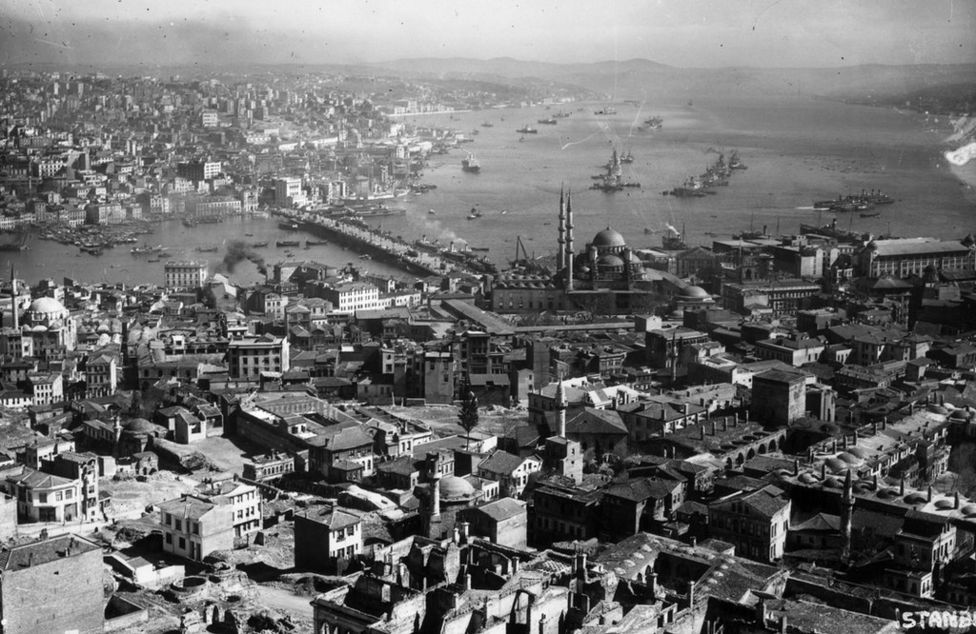 1910'lu yıllarda İstanbul