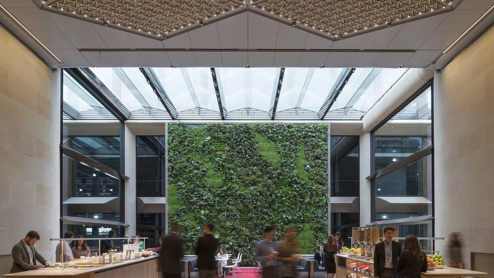 jardín vertical (Foto: James Newton/Bloomberg)
