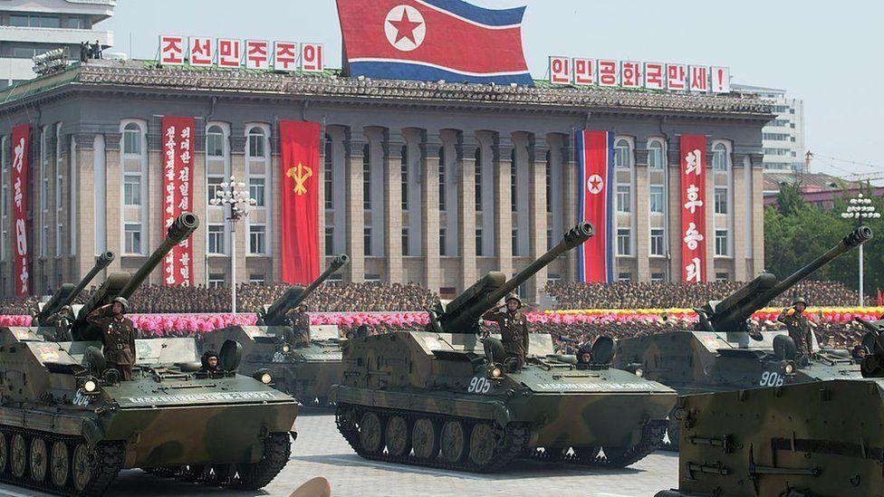 Como seria uma guerra com a Coreia do Norte?