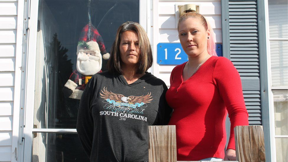 Samantha Oxendine, right, and her mother Jill