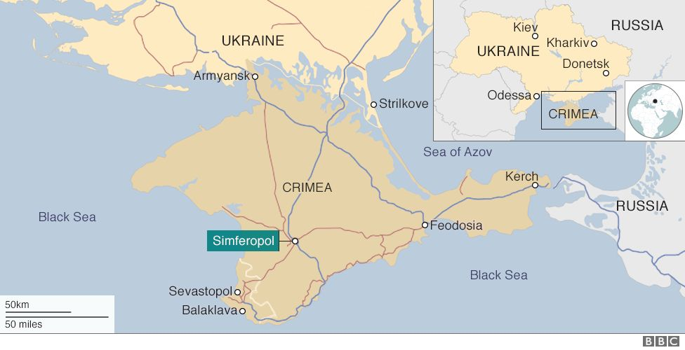 Crimea The place thats rather difficult to get into  BBC News
