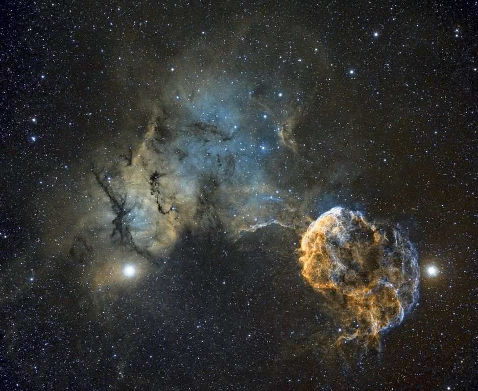 IC443 is a galactic supernova remnant