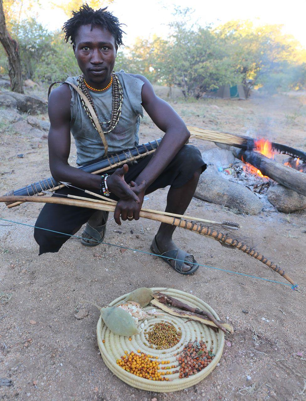 African Tanzania Hadza Hunters