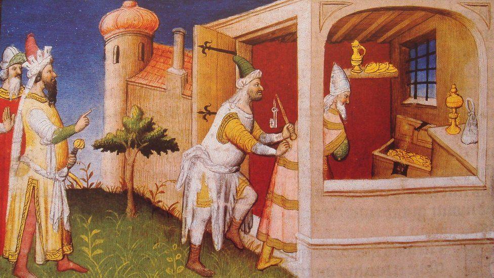 हलाकू ख़ान और मुसतआसिम बिल्लाह