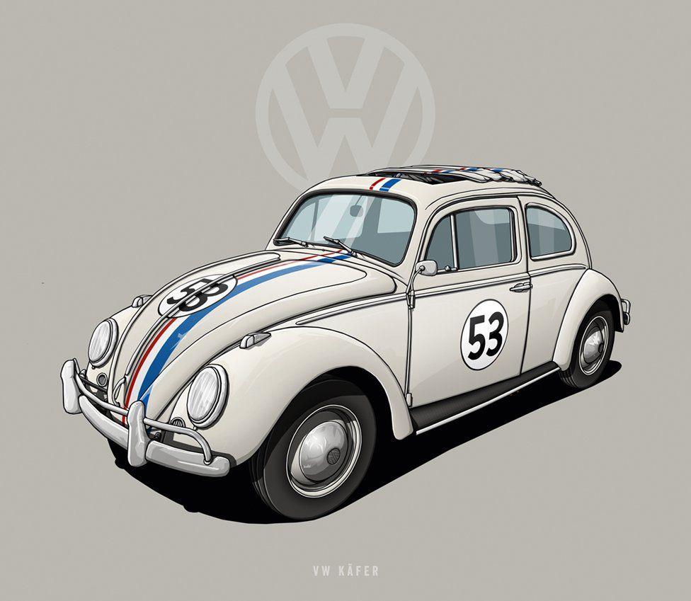 Vw Beetle Kafer Herbie