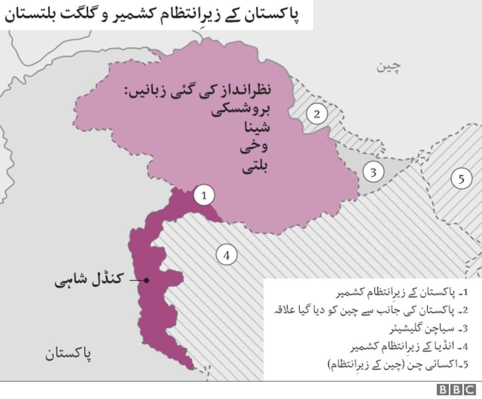 Languages Of Pakistan - Pakistan language map